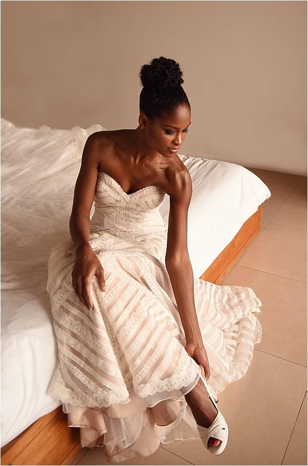 Carribean Bride Getting Ready