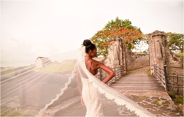 Carribean Wedding Dress