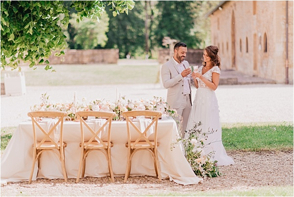 Renaissance-style wedding in France