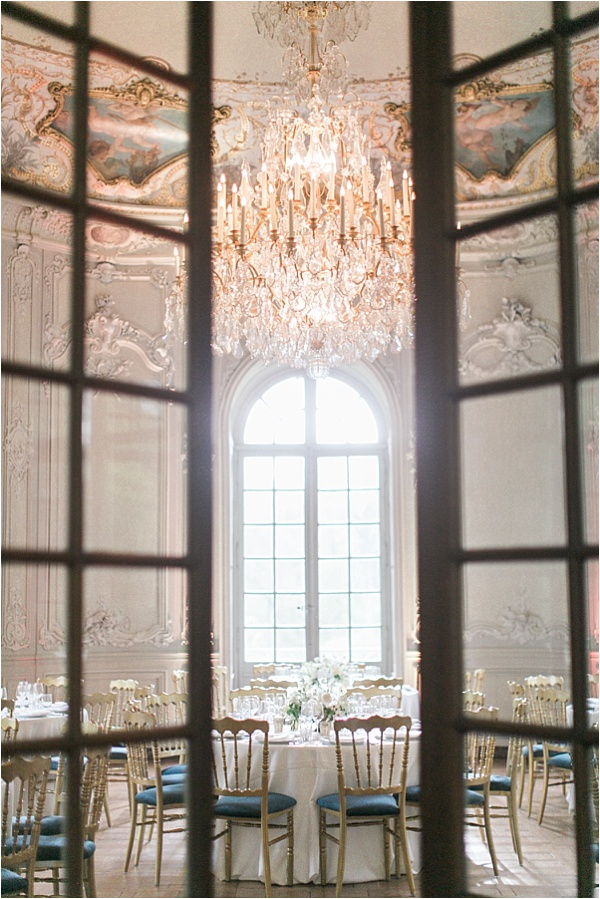 Dinner room Chateau de Chantilly