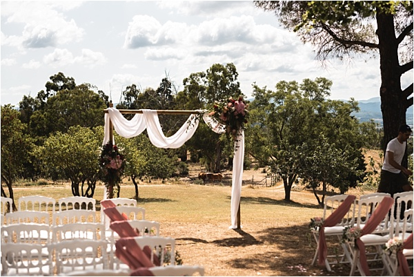 Domaine Micheaud Ceremony Location