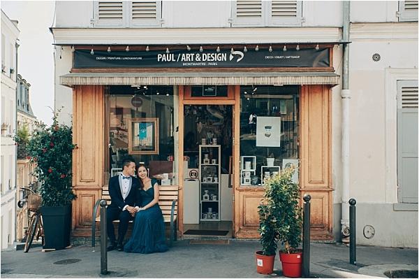 Engagement Shoot Downtown Paris