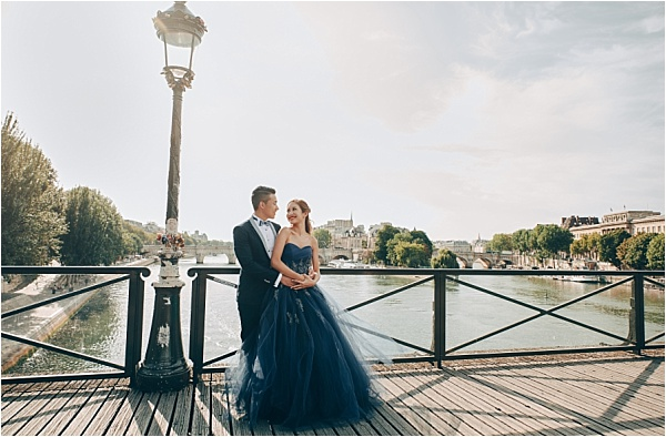Engagement Shoot View of Sacre Coeur
