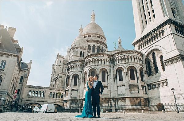 Engagement Shoot at Sacre Coeur