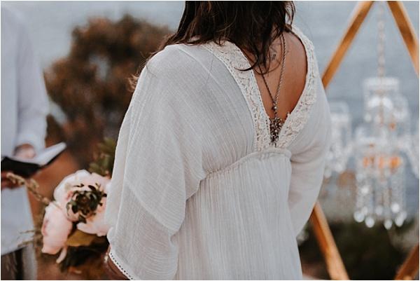 Geraldine Blue wedding dress