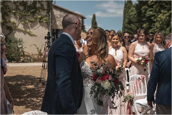 Giving thre bride away