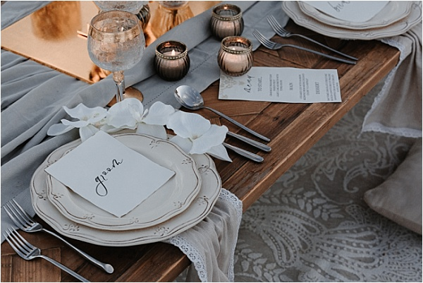 Groom Placesetting