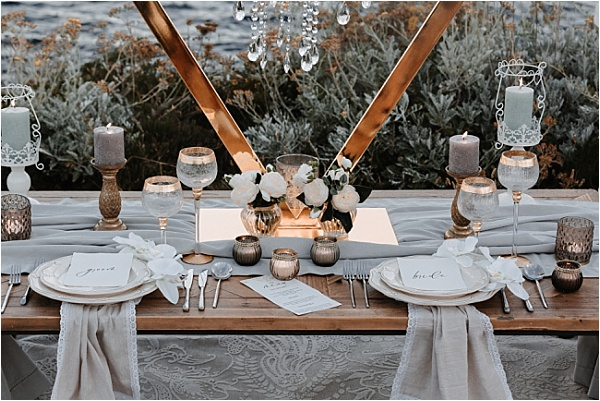 His and Hers tablesetting
