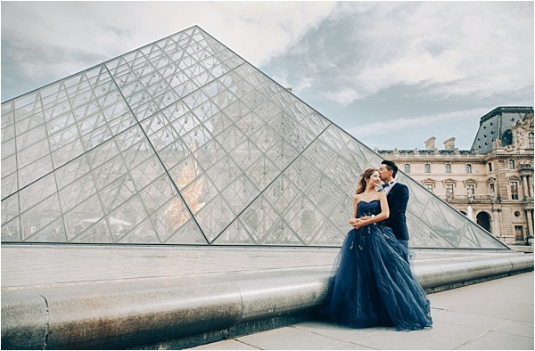 Louvre Engagement Shoot