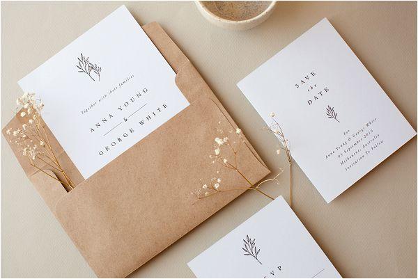 Luna wedding stationery ideas