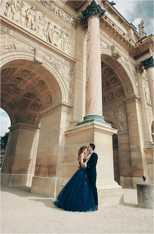Paris Arc Engagement Shoot