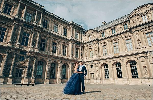 Paris Chateau Engagement Shoot