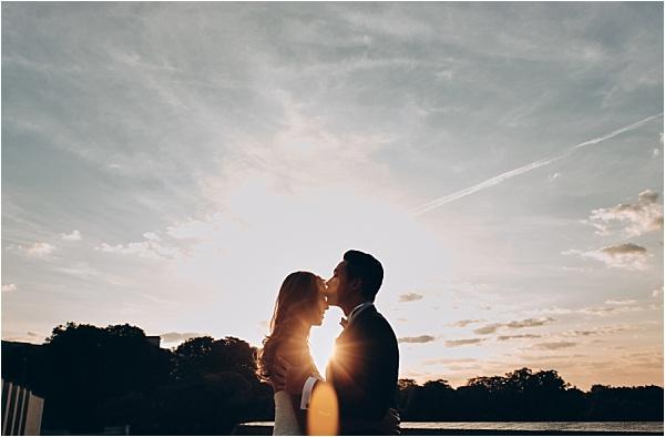 Paris Sunset Engagement Shoot