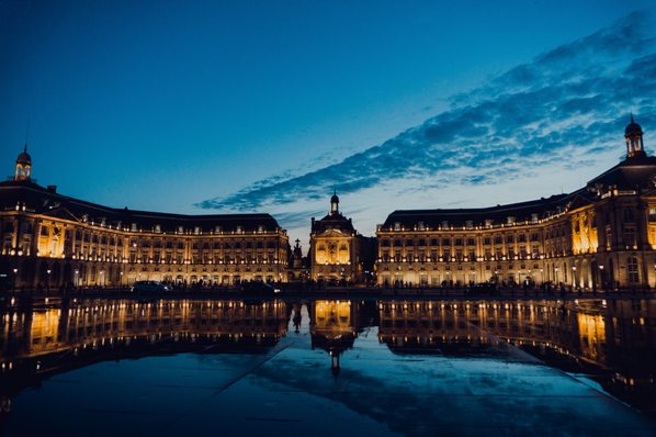 Plaec de la Bourse in Bordeaux small