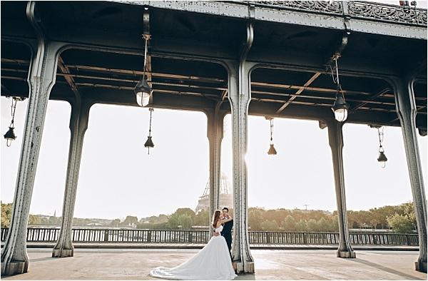 Pont Neuf Engagement Shoot