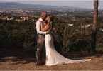 Enzoani Bride for Destination Wedding in France