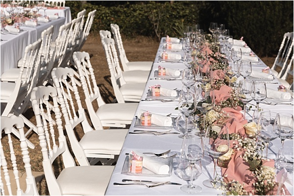 Provence Pink Tablesetting