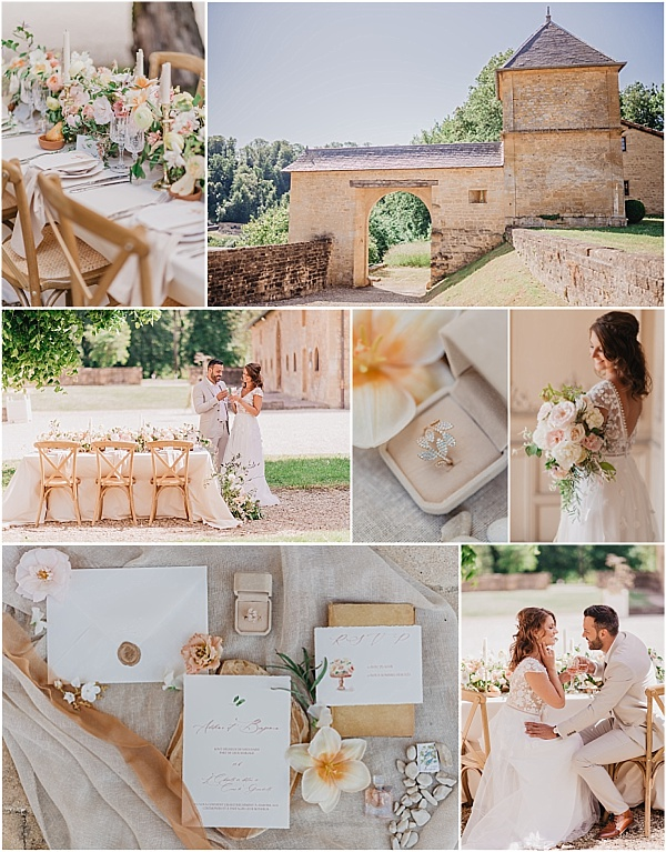 Renaissance-style wedding in France Snapshot