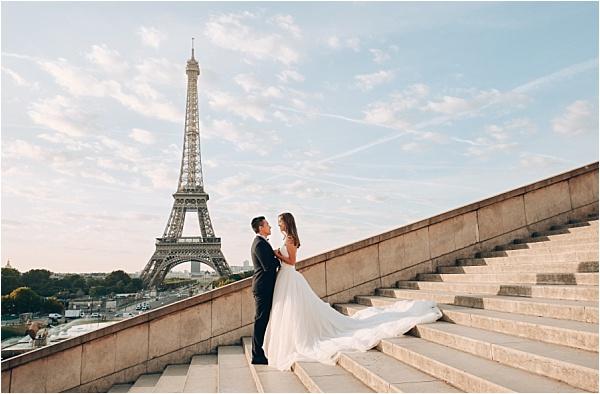 Stunning Paris Engagement Shoot