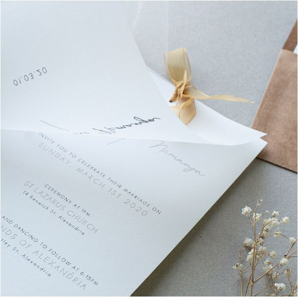 Trends in Wedding Invitations