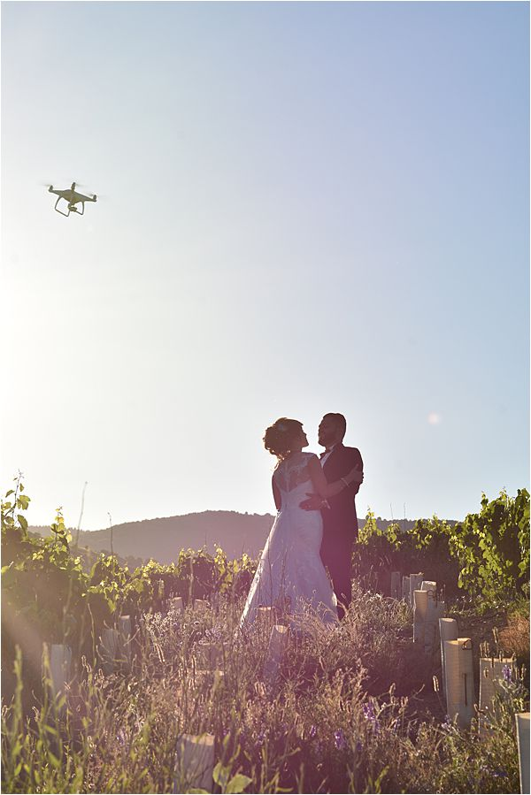 Weddreams Drone Photographers for your Wedding in South East France