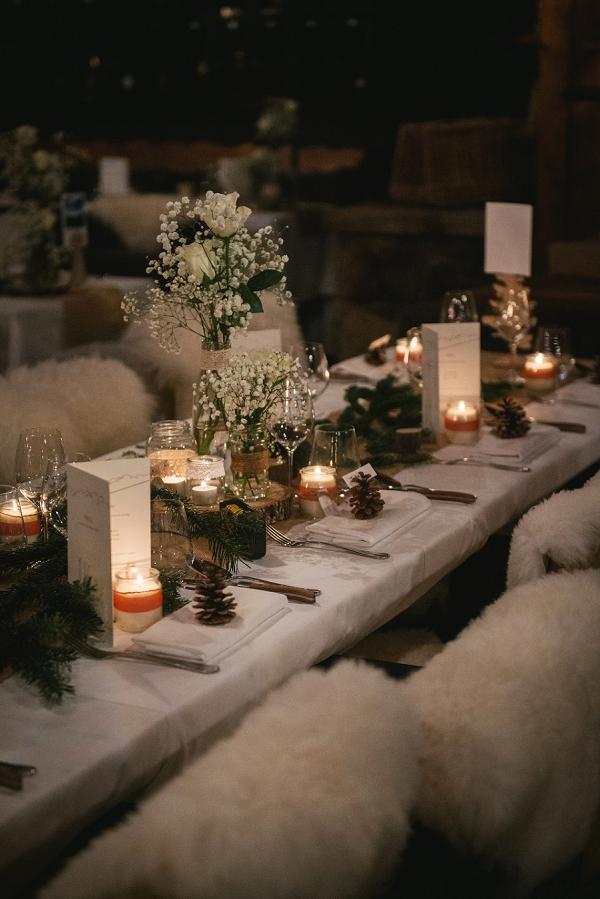 Winter wedding in Alps france