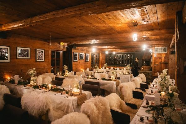 Winter wedding in Alps inspiration