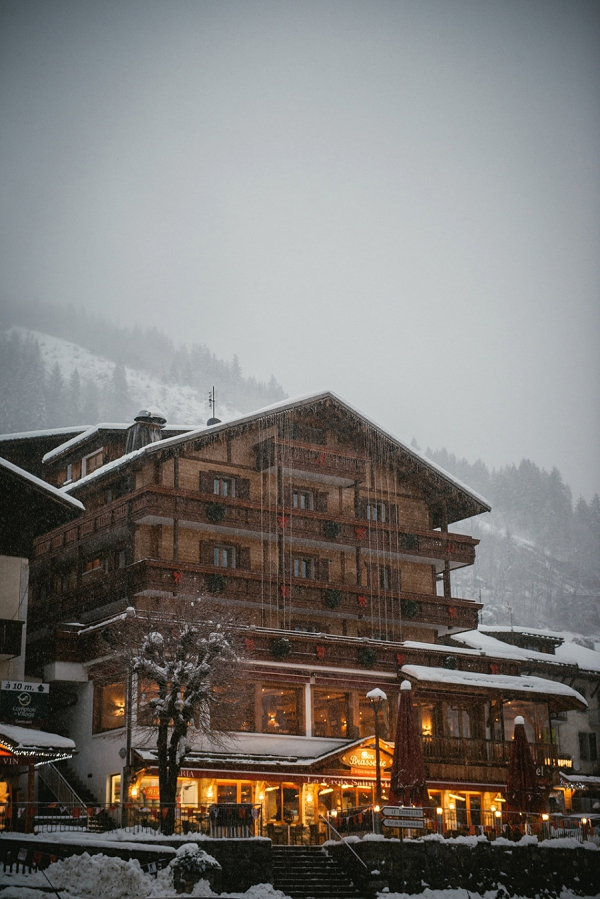 Winter wedding venue france