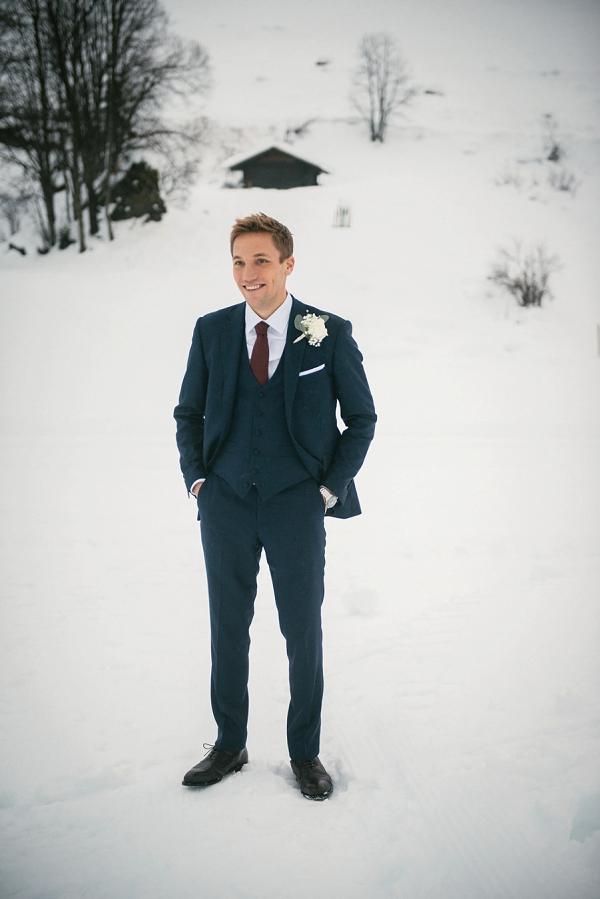 groom attire winter wedding
