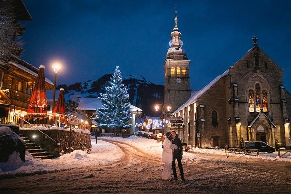 winters eve wedding