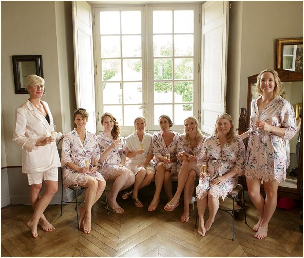 Bridal party robes | Image by Charlie Davies Photography