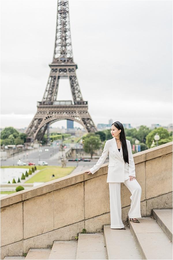 Bride photoshoot Eiffel Tower