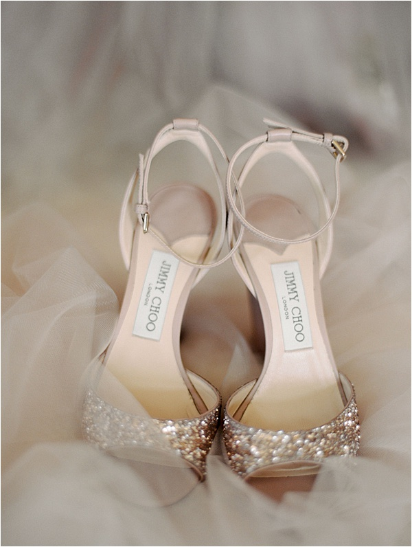 Bride's Jimmy Choos