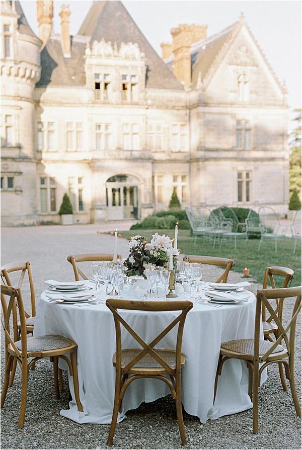 Château de la Bourdaisière Dinner
