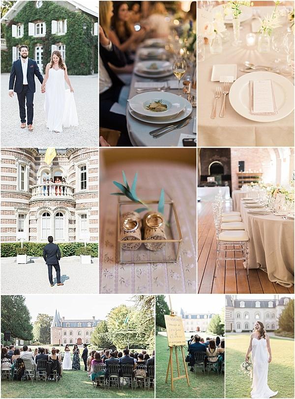 Chateau Comtesse Lafond Epernay, France Wedding Snapshot
