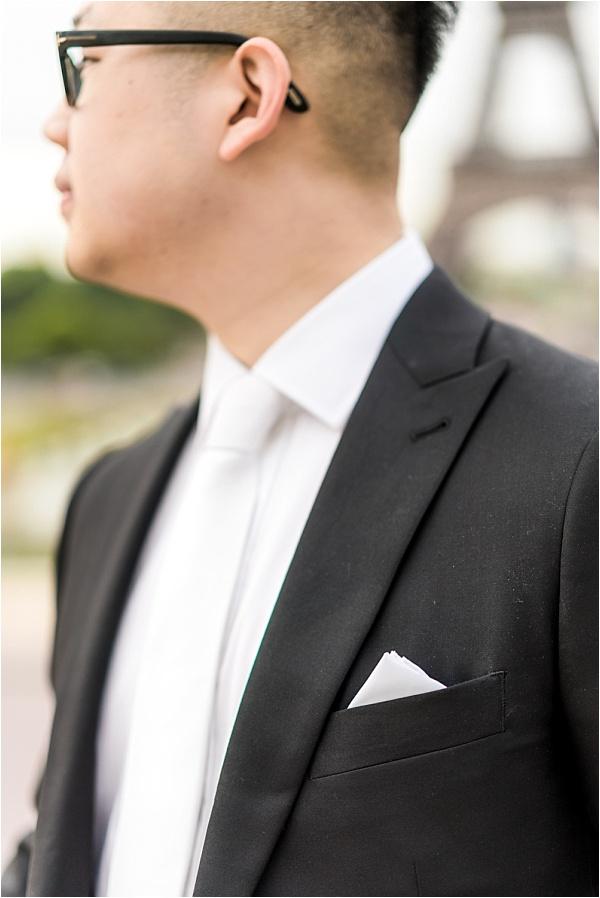 Fancy groom suit