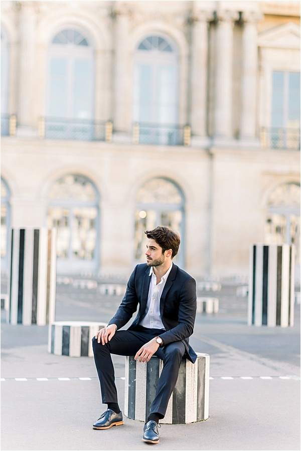 Glam Paris Engagement Session