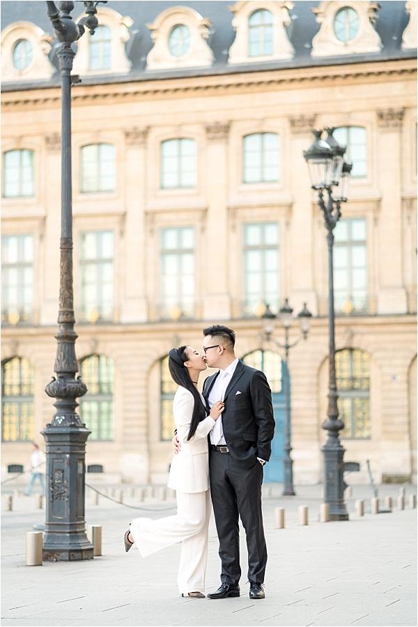 Just married in paris
