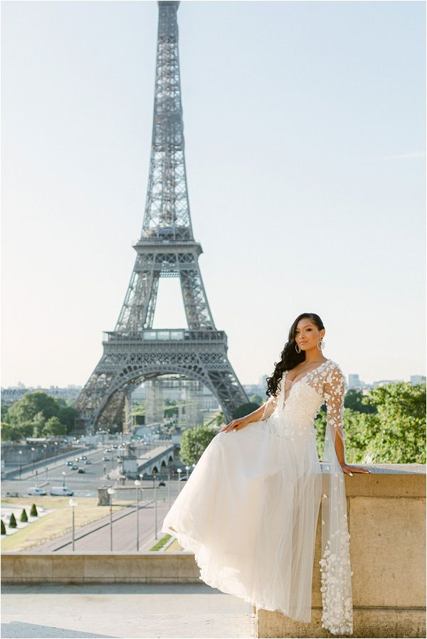 Max Chaoul bride in Paris Images by Zackstories