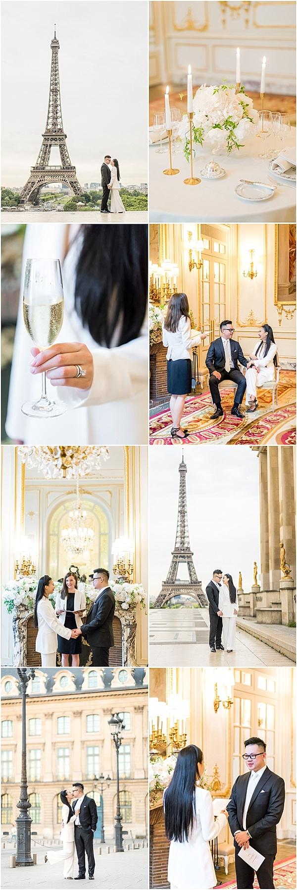 Micro Wedding in Paris Snapshot