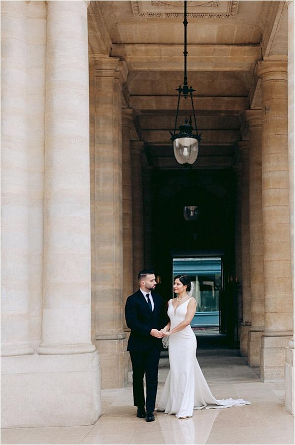 Paris elopement photoshoot