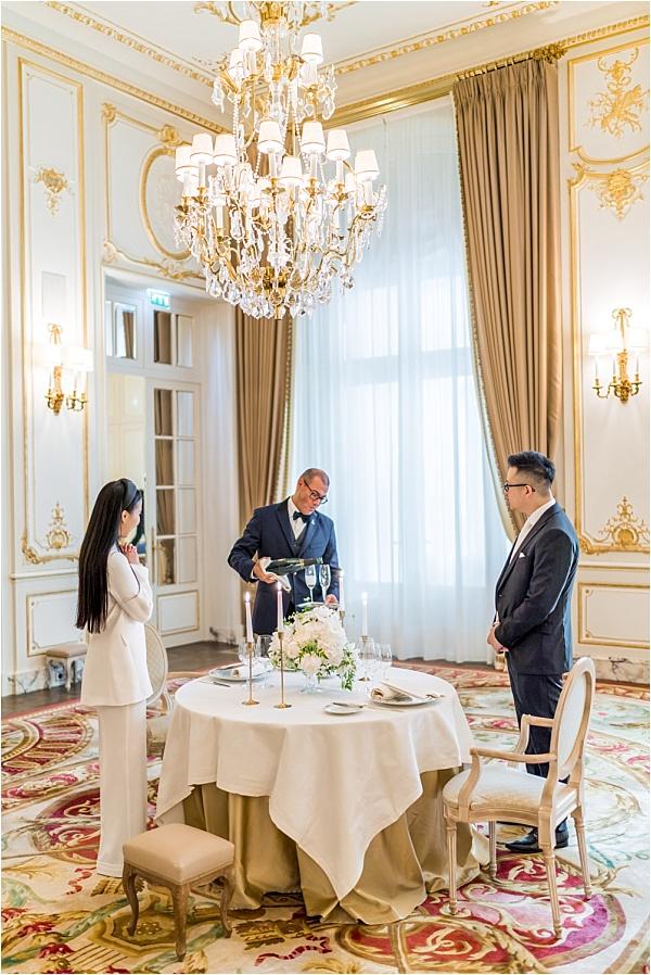 Perks of micro wedding at the Ritz Paris