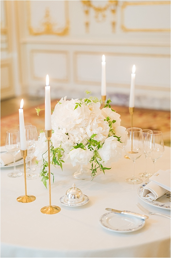 Ritz Paris Tablesetting