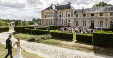 Romantic Chateau de Vallery Wedding