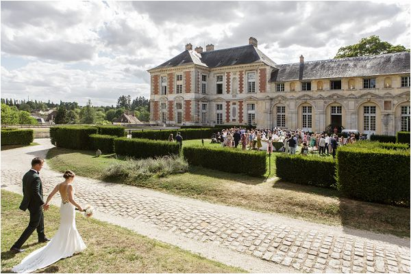 Romantic Chateau de Vallery Wedding | Image by Charlie Davies Photography