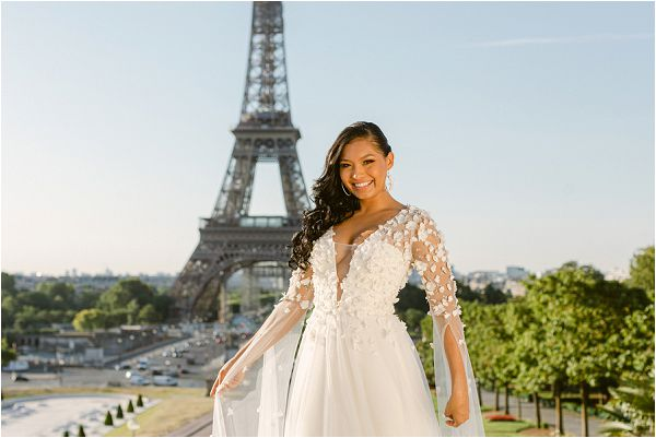 Timeless Wedding in Paris styled shoot Images by Zackstories