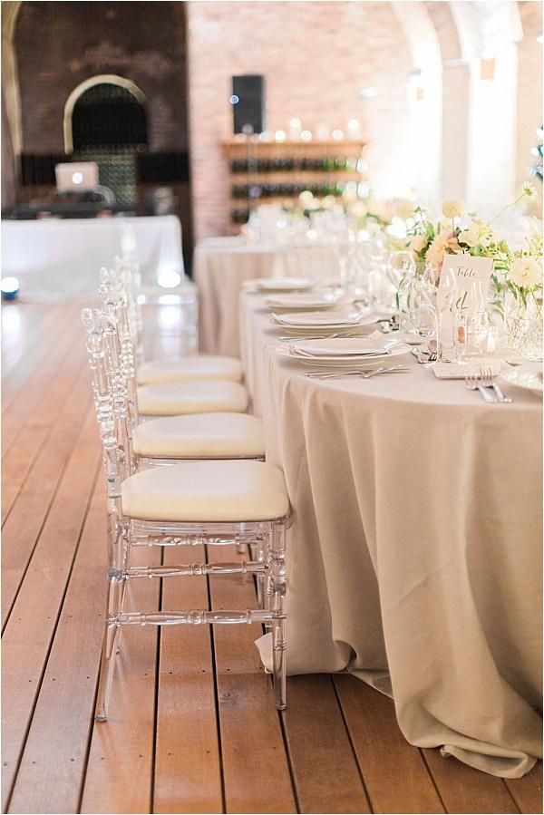 Un Chouette Event Table Setup