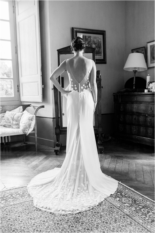 backless budget wedding dress | Image by Charlie Davies Photography