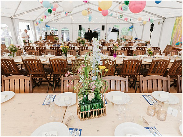 indoor tent for a wedding reception Images by Alexander J Collins