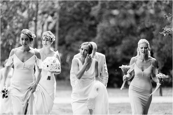 modern bridal party | Image by Charlie Davies Photography